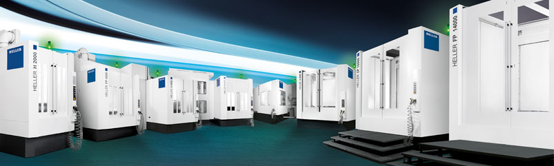 HELLER CNC machining centres