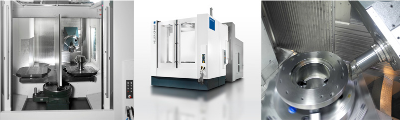 5-axis machining - C series