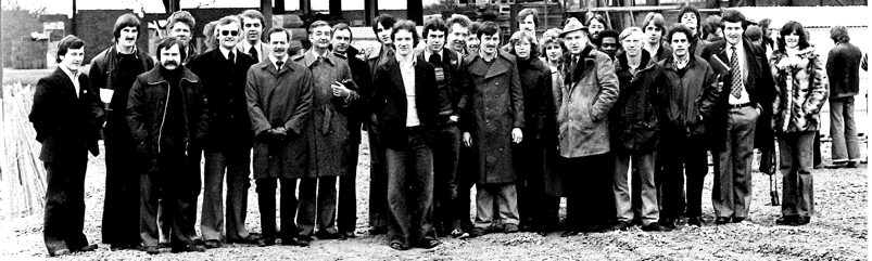 HELLER UK staff in 1981